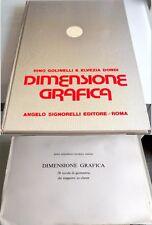 RINO GOLINELLI ELVEZIA DONDI DIMENSIONE GRAFICA + 28 TAVOLE GEOMETRIA SIGNORELLI