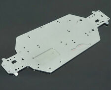 1PC Alloy Metal 04001 HSP Silver Chassis Upgrade Parts for 1:10 RC Off Road Car