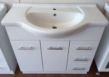 On Sale! DESIGNER 900mm BATHROOM VANITY with CERAMIC TOP