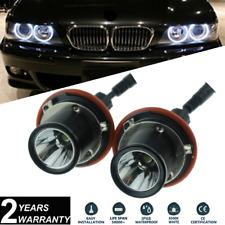 2x 10W Cree LED Angel Eye Halo Ring Bulbs BMW E39 E60 5-Series X5 E53 E63 E65 X3