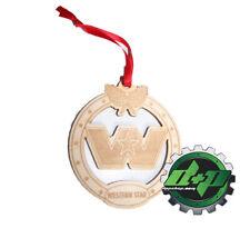 Western Star Logo 3.5 inch Christmas tree ornament holiday Truck mirror dangle