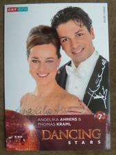 Dancing Star 2013 - Angelika Ahrens & Thomas Kraml (ORF eins Autogrammkarte)
