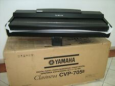 PIANO YAMAHA CVP 705B CLAVINOVA CVP705 B DIGITAL CVP 705 BLACK WALNUT BENCH HEAD