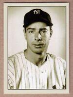 Joe DiMaggio New York Yankees signature photo card Plutograph serial number /200