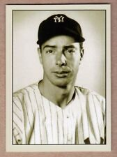 Joe DiMaggio New York Yankees signature photo card Plutograph serial number /200