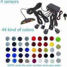 4 Sensors Car Backup Radar 44 Colors Parking Reversing Radar LED Display Buzzer