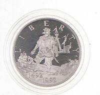 PROOF 1992-S Christopher Columbus Quincentenary HALF DOLLAR Commemorative