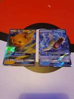 Pokemon Hidden Fates ×2 Promo Raichu And Gyarados