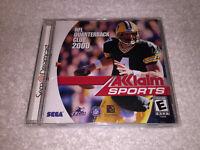 NFL Quarterback Club 2000 (Sega Dreamcast) ☆☆☆ Complete LN Perfect Mint ☆☆☆ !
