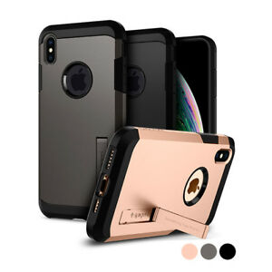 iPhone X/XS, XS Max Case | Spigen® [Tough Armor] Protective Shockproof Cover