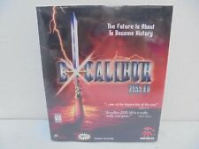 Excalibur 2555 AD PC game new sealed CD-ROM Sirtech 1997