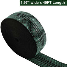 1Pcs 40Ft Sofa Elastic Webbing Stretch Band Chair Couch Material Replacement Diy