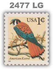 2477 2477l American Kestrel 1c Low Gloss Gum Flora Fauna Issue MNH - Buy Now