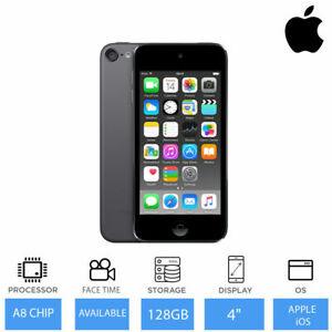 Apple iPod Touch 6. Generation 128GB grau schwarz, 4 Zoll Display, FaceTime