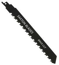 Saxton R228BC Brick Concrete Cement Board Cutting Reciprocating Sabre Saw Blade