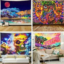 Mandela Wall Hanging Tapestry psychedelic Pattern Cloth Painting Home Decor