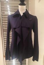 Moschino Cheap & Chic Women's Wool Purple Jacket UK 10 EU 38 US 8 Made in Italy