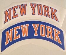 "Knicks Fathead Lot of (2) Official Sign New York Banner Graphics (Both 18"" x 5"")"