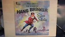 Disneyland Records The Story Of HANS BRINKER & The SILVER SKATES LP 1963