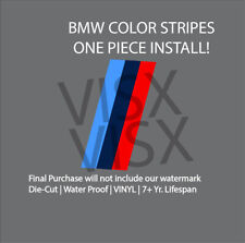 Colored Stripes for BMW Vinyl Decal Car Sticker jdm Bumper Side Front Back