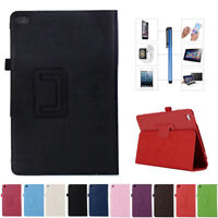 Leather Stand Flip Case Cover For Huawei MediaPad M2 T2 7.0 8.0 10.0 Pro Tablet
