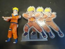 2002 Naruto Uzumaki Action Figure With Shadow Clones