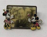Walt Disney in a Frame Mickey and Minnie PIN Walts 100th Birthday 2002 DWR DLR