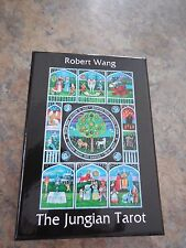 JUNGIAN TAROT DECK CARDS BOOK WISDOM PSYCHOLOGY Robert Wang CAT ResQ