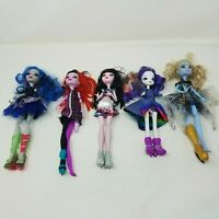 Monster High Dolls Clothes Lot of 5 Mattel Parts Repair Clothing Shoes 11.5 Inch