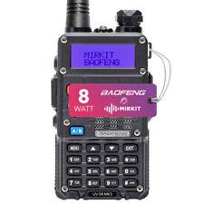 Baofeng Uv-5R Radio Mk5 8W Max Power 2020 Two Way Radio Long Range Walkie Talkie