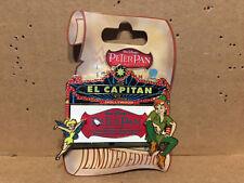 DSF - El Capitan Marquee - Walt Disneys Peter Pan Peter & Tinker Bell LE 300 Pin