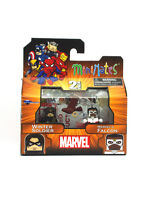 Marvel Minimates Winter Soldier & Marvel's Falcon Series Wave 54 New In Box