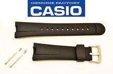 CASIO G-SHOCK WATCH BAND STRAP BLACK RUBBER  EF-305 EF-305-1 EF-305-9 2 PINS