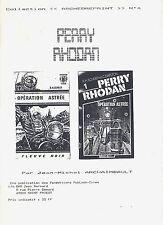 EO INFIME TIRAGE JEAN-MICHEL ARCHAIMBAULT : PERRY RHODAN, ÉTUDE BIBLIOGRAPHIQUE