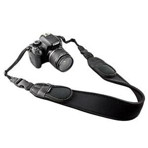 JJC NS-Q2 Neoprene Neck Strap with Quick Release Clip & Pouches for DSLR Camera