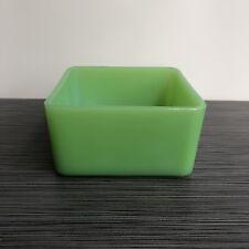 Jeannette Glass Co Jadite / Jadeite / Jade-ite Refrigerator Leftover Dish No Lid