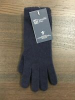 Women's Long Cashmere Gloves | Johnstons of Elgin | Made in Scotland | Navy