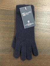 Women's Long Cashmere Gloves   Johnstons of Elgin   Made in Scotland   Navy