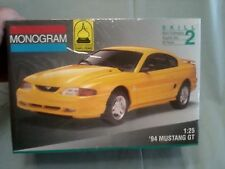 Revell - Monogram (#2967) 1/25 Scale 94 Ford Mustang GT (1994)  FS and MINT