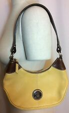 NWT $200 Dooney & Bourke Mini Hobo Yellow Defect