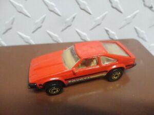 Loose Hot Wheels Red '82 Toyota Supra w/GHO Wheels