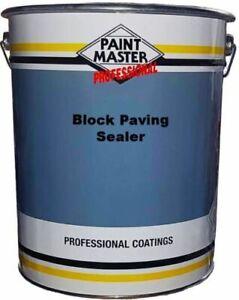 Wet look Driveway sealer * block paving sealer * sealant 20ltr Paintmaster