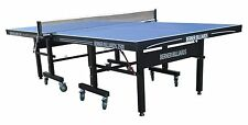 25mm TABLE TENNIS / PING PONG TABLE in BLUE ~ BERNER BILLIARDS 2500 ~ INDOOR USE