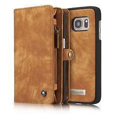 Handy Tasche Für Samsung Echt Wallet Leder Case Schutz Hülle Cover Bumper Etui
