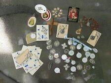 Religious Medals Lot of Vintage Christian Medals