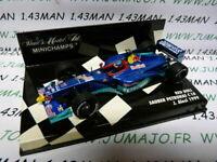 Voiture 1/43 MINICHAMPS : SAUBER Petronas Red Bull J.ALESI F1 1999 formule 1