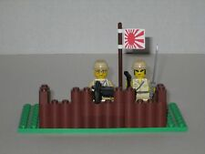 Lego Custom Minifig WW2 Japanese Modern Warfare Machine Gun Nest with 2 Minifigs