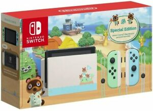 Nintendo Switch Console - Animal Crossing: New Horizons Limited Edition