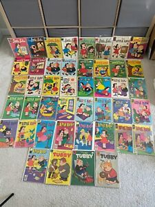 Big Lot of Dell Gold Key Whitman Marge's Little Lulu & Tubby Comic Books