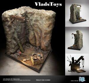 Ihns Toys 1/6 Scale Original Large Scene Base Station The Cave  USA Dealer